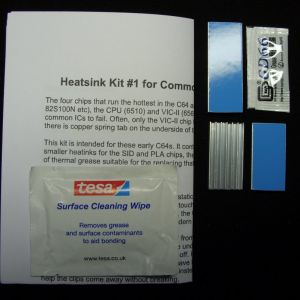 Heatsink Kit 1b for Commodore 64