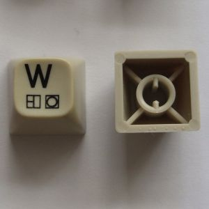 Type 3 Spare Key - C64C (White keys) - Grade 2