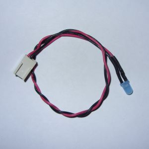 Custom Power LED cable for breadbin C64 *New BLUE LED* (includes new grommet)
