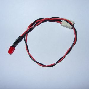 Custom Power LED cable for breadbin C64 *New RED LED* (includes new grommet)