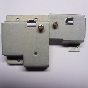 Pair of keyboard support brackets for C64C - Short Board