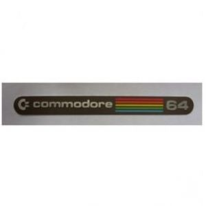 Commodore 64 Metal Rainbow Badge