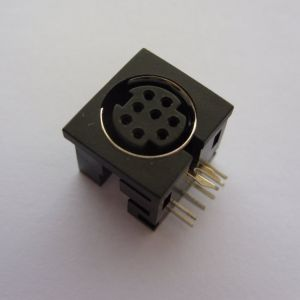 Plus 4 / C16 Joystick Port Socket
