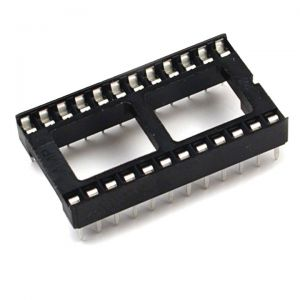 24 pin DIL socket